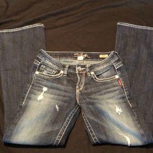 Silver jeans Lola
